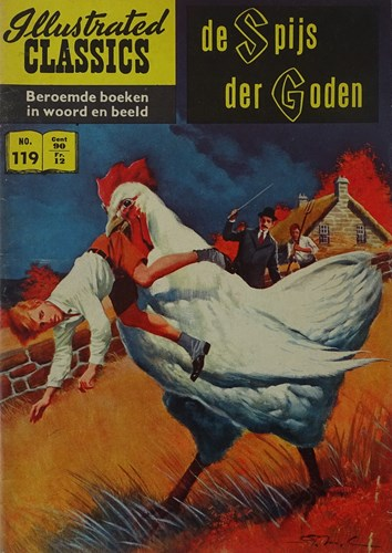 Illustrated Classics 119 - De spijs der goden, Softcover, Eerste druk (1961) (Classics International)