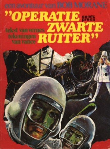Bob Morane - Semic 1 - Operatie Zwarte Ruiter, Softcover (Semic Press)