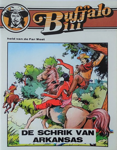 Buffalo Bill 3 - De schrik van Arkansas, Softcover, Buffalo Bill - Dimensie (Dimensie)