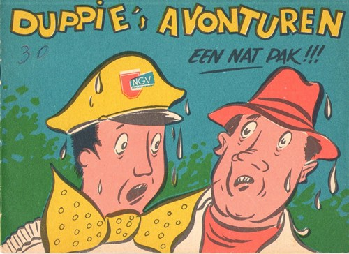 Duppie 37 - Een nat pak !, Softcover (NGV)