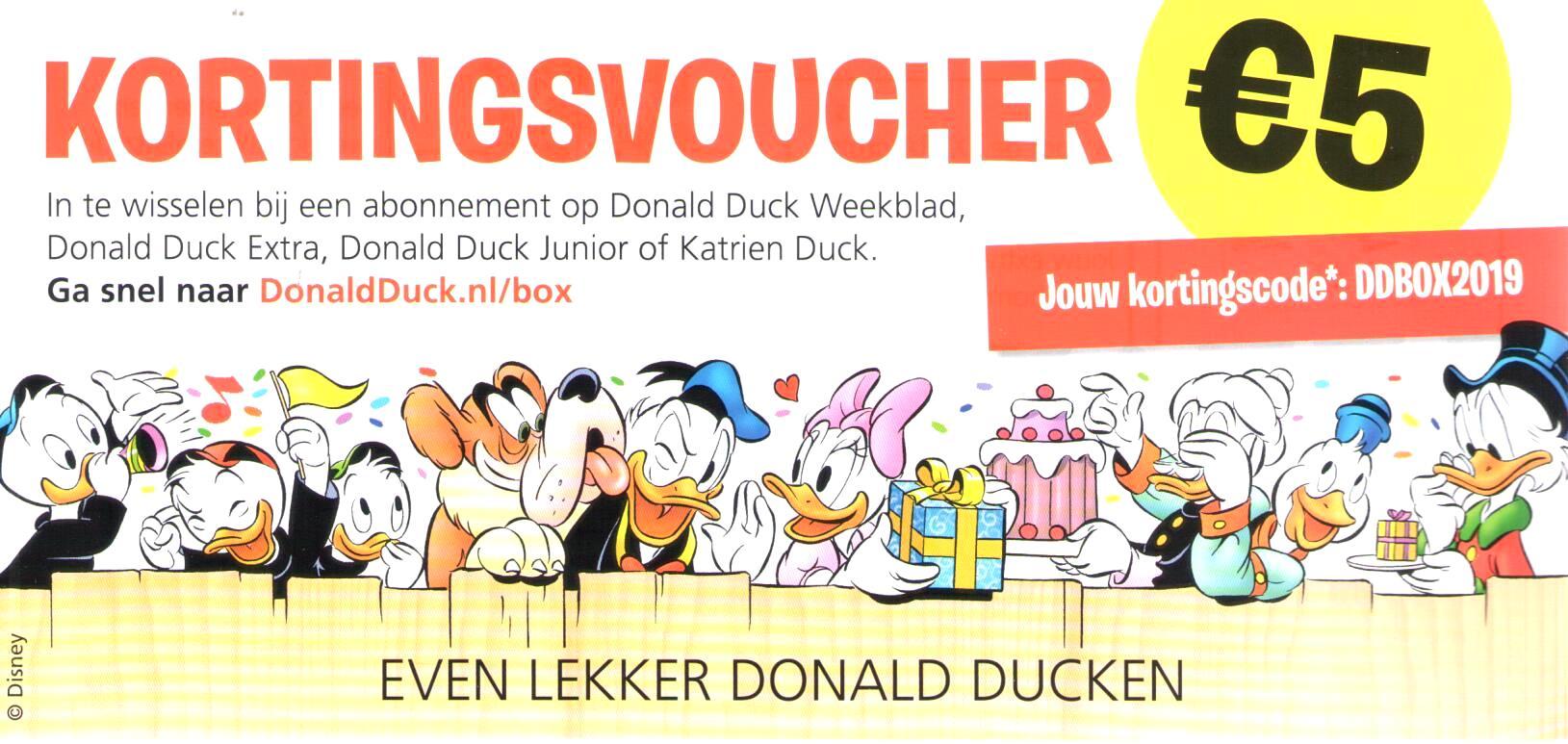 Akim Stripwinkel Donald Duck Diversen Cadeaubox Box